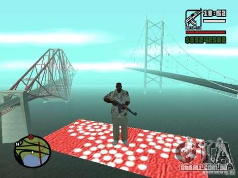 Tapete voador para GTA San Andreas terceira tela