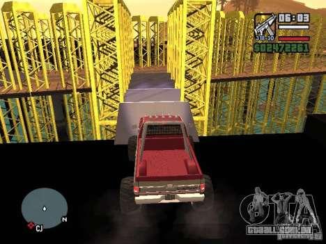 Monster tracks v1.0 para GTA San Andreas oitavo tela