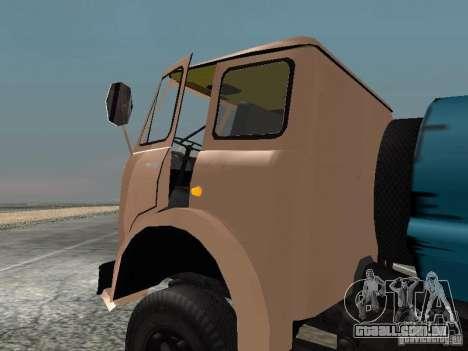 MAZ 503 para GTA San Andreas esquerda vista