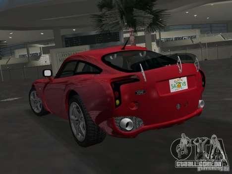 TVR Sagaris para GTA Vice City