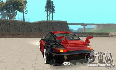 Porsche 911 GT2 NFS Undercover para GTA San Andreas esquerda vista