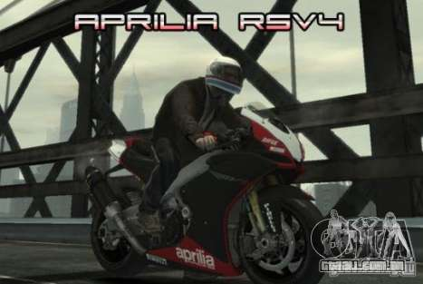 Aprilia RSV4 SBK para GTA 4