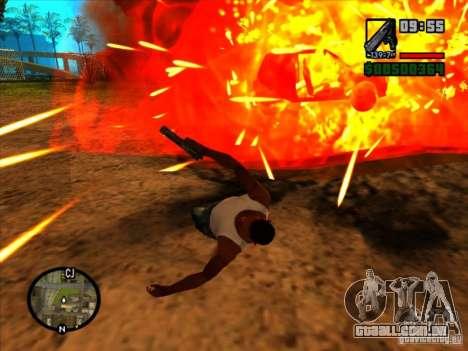 Lixo da explosão para GTA San Andreas