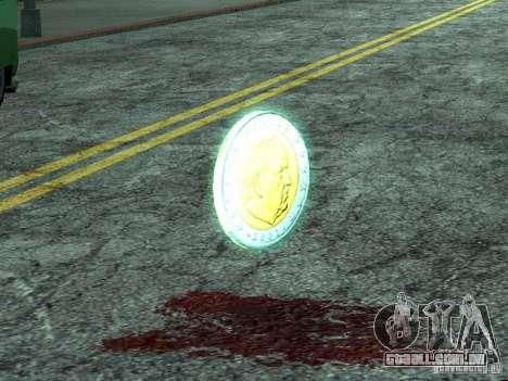 Moedas de euro para GTA San Andreas segunda tela