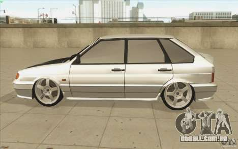 Vaz-2114 para vista lateral GTA San Andreas