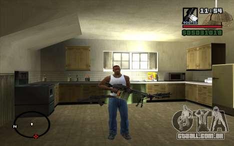 PKP Pecheneg metralhadora para GTA San Andreas