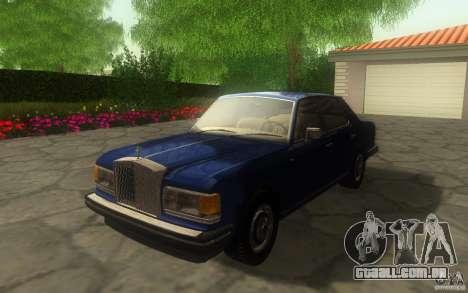 Rolls-Royce Silver Spirit 1990 para GTA San Andreas