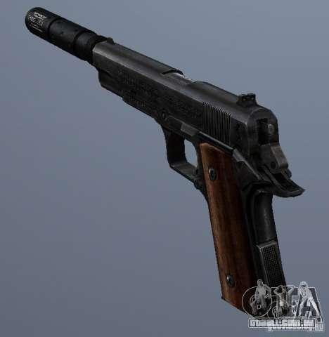 SilencedM1911 para GTA San Andreas segunda tela