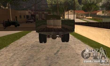 ZiS-5 para GTA San Andreas esquerda vista