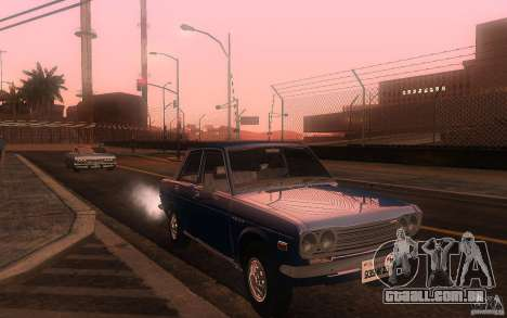 Datsun 510 4doors para GTA San Andreas
