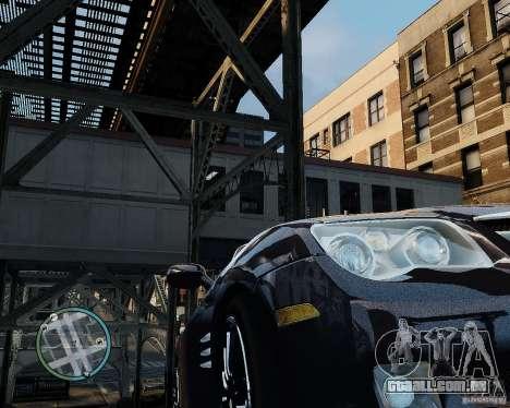 2007 Chrysler Crossfire para GTA 4 vista de volta