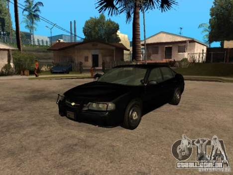 Chevrolet Impala Undercover para GTA San Andreas