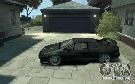 Lotus Esprit V8 para GTA 4 esquerda vista