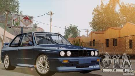 BMW M3 E30 para GTA San Andreas vista superior