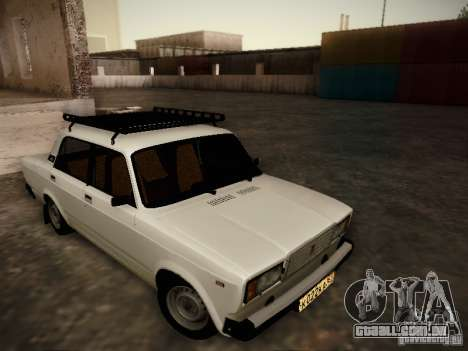 VAZ-2107 v2 para GTA San Andreas