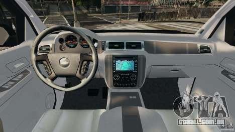 Chevrolet Avalanche 2007 [ELS] para GTA 4 vista de volta