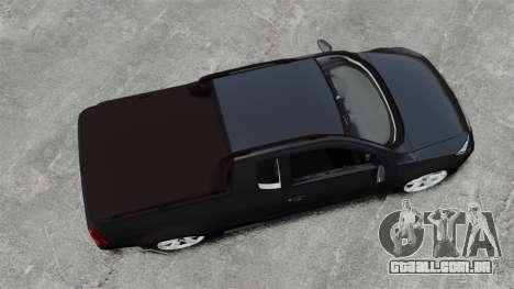 Volkswagen Saveiro Cross Edit para GTA 4 vista direita