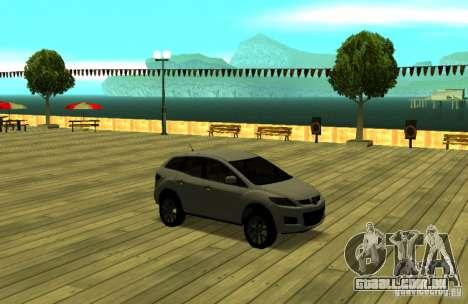 Mazda CX7 para GTA San Andreas vista traseira