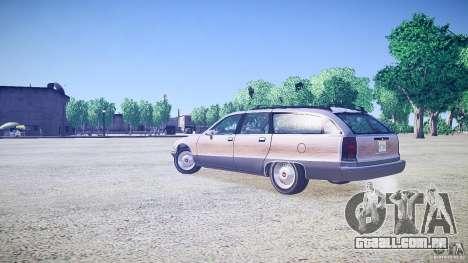 Chevrolet Caprice Civil 1992 v1.0 para GTA 4 esquerda vista