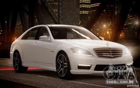 Mercedes-Benz S65 AMG 2012 v2.0 para GTA 4 esquerda vista