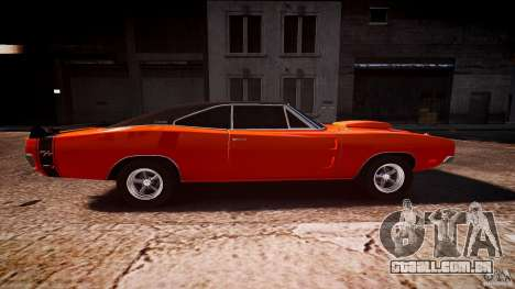 Dodge Charger RT 1969 esportes de v 1.1 tun para GTA 4 vista interior