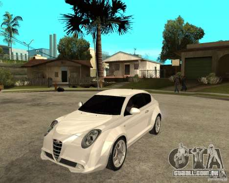 Alfa Romeo Mito para GTA San Andreas