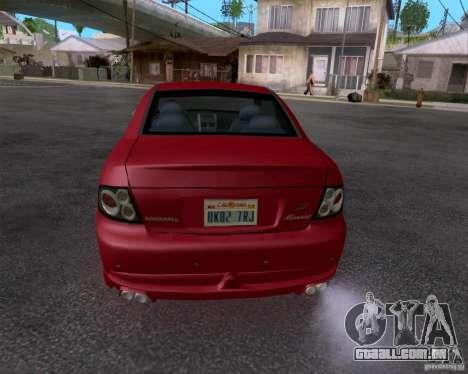 Vauxhall Monaco VX-R para GTA San Andreas