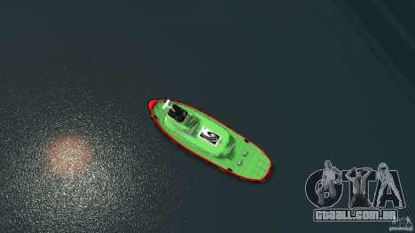 TUG Texture and Handling para GTA 4 vista direita