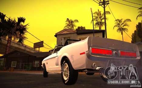 ENBSeries v. 1.0 por GAZelist para GTA San Andreas terceira tela