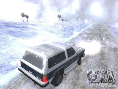 Snow MOD HQ V2.0 para GTA San Andreas oitavo tela