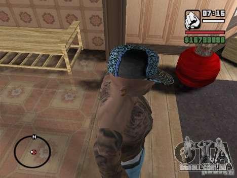 Tampão de Nova York para GTA San Andreas terceira tela