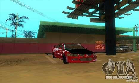 Mitsubishi Lancer Evolution IX Carbon V1.0 para GTA San Andreas