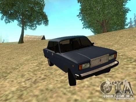 VAZ-2107 v 1.1 para GTA San Andreas