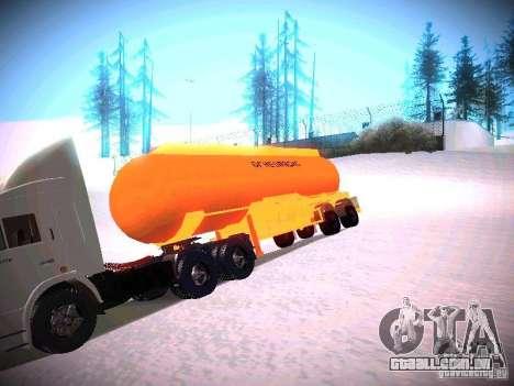 Tanque para GTA San Andreas