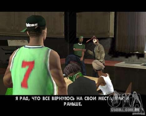 Jason Voorhees para GTA San Andreas sétima tela