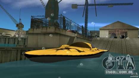 X-87 Offshore Racer para GTA Vice City