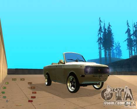 Gaz Volga 2410 el Cabrio para GTA San Andreas