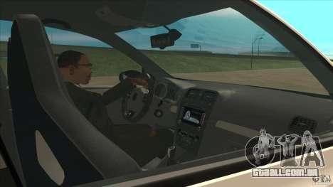 Volkswagen Golf MK6 Hybrid GTI JDM para GTA San Andreas vista interior