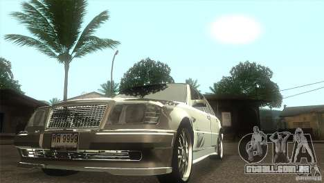 Mercedes-Benz E500 VIP Class para GTA San Andreas vista traseira