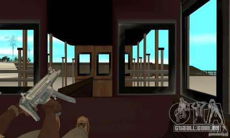 Tram para GTA San Andreas vista interior