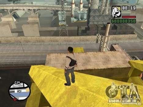 Desmond Miles para GTA San Andreas quinto tela