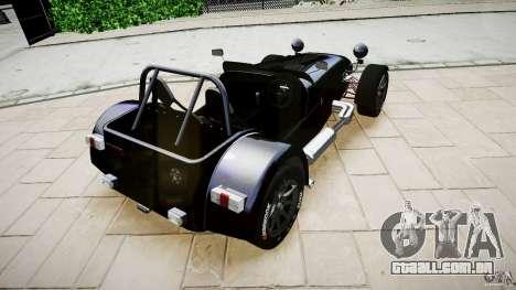 Caterham 7 Superlight R500 para GTA 4 esquerda vista