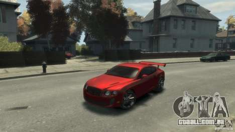 Bentley Continental SS para GTA 4