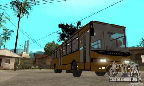 Volzhanin 52702 para GTA San Andreas vista traseira