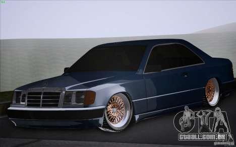 Mercedes-Benz W124 Low Gangster para GTA San Andreas