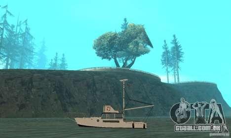 Reefer GTA IV para GTA San Andreas traseira esquerda vista