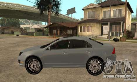 Ford Fusion V6 DUB 2011 para GTA San Andreas esquerda vista