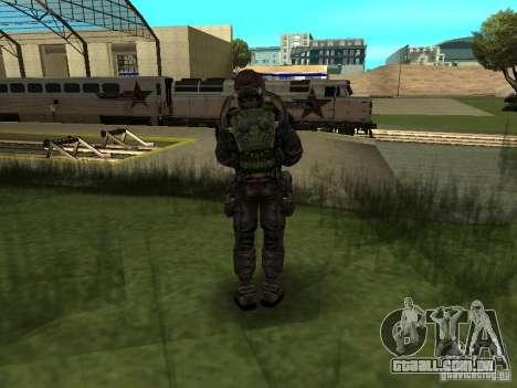 Membro considera em traje para GTA San Andreas segunda tela