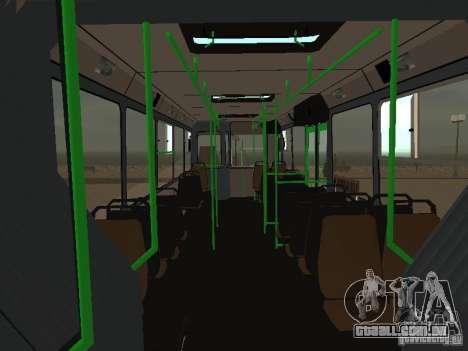 LIAZ 6212 para vista lateral GTA San Andreas
