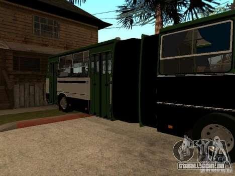 Trailer de IKARUS 280 33 m para GTA San Andreas esquerda vista